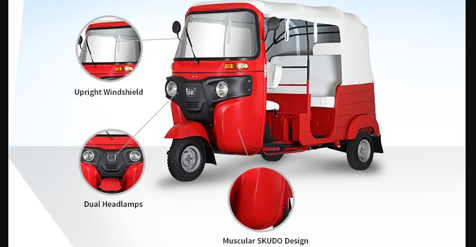 Bajaj RE 4S Auto Rickshaw Safety