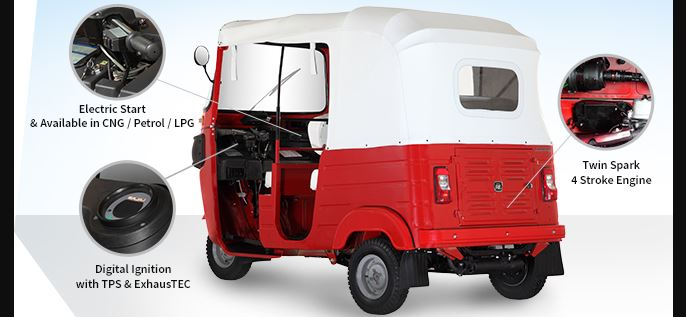 Bajaj RE 4S Auto Rickshaw engine perfroamce