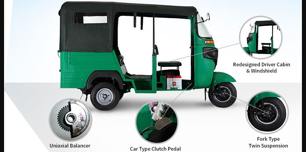 Bajaj RE Maxima Auto Rickshaw comfort