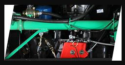 Bajaj RE Maxima Auto Rickshaw engine
