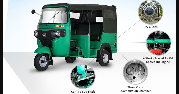Bajaj RE Maxima Auto Rickshaw performance