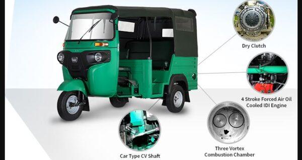 Bajaj RE Maxima Auto Rickshaw performance