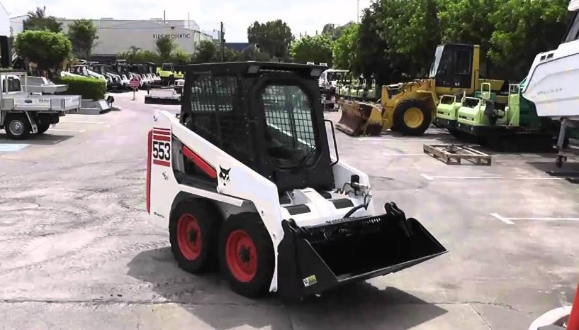 Bobcat 553 Skid Steer Loader Price