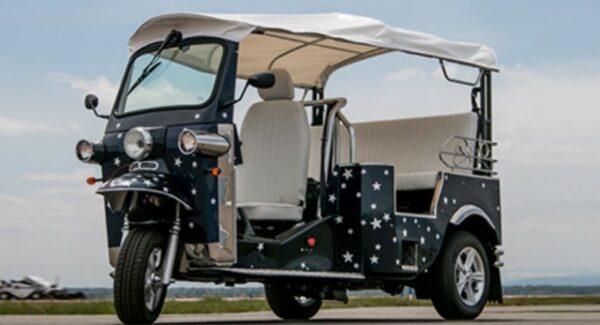 E-Tuk USA Classic Electric Rickshaw Price