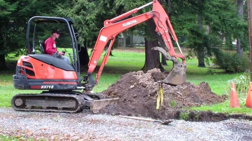 Kubota KX71-3 Mini Excavator Price