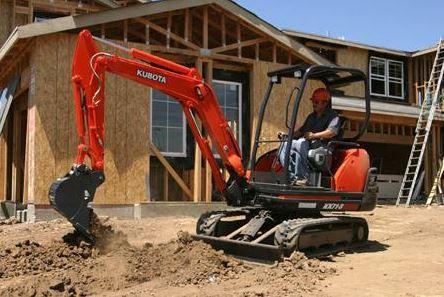 Kubota KX71-3 Mini Excavator Specifications