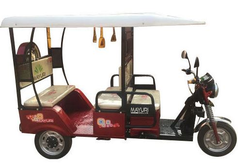 Mayuri Delux E-Rickshaw (I Cat Approved) price in India