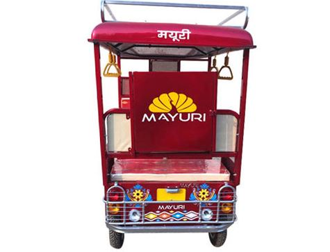 Mayuri I Cat Approved E-Rickshaw specifications