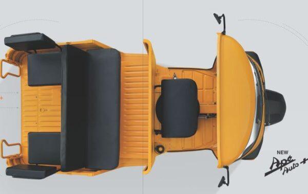 Piaggio Ape Auto + Rickshaw Key Features
