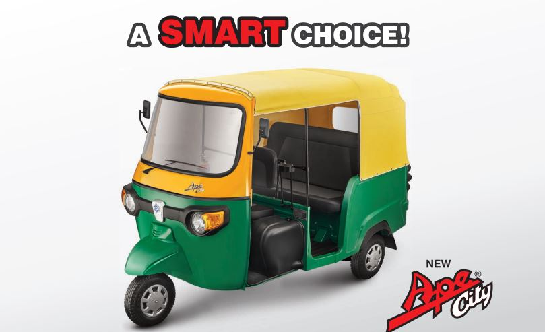 Piaggio Ape City Diesel Petrol Cng Lpg Auto Rickshaw Price List