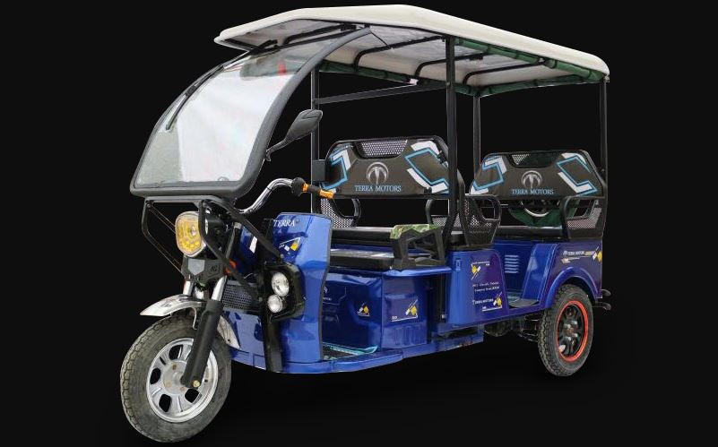 Terra Motors Y4A E-Rickshaw Price in India Specifications & Photos