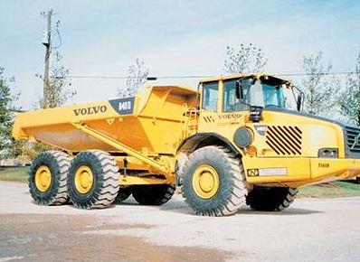 Volvo A40d Articulated Dump Truck