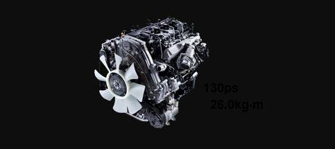 Hyundai H100 High-performance 2.5ℓ Diesel (Natural Aspiration)