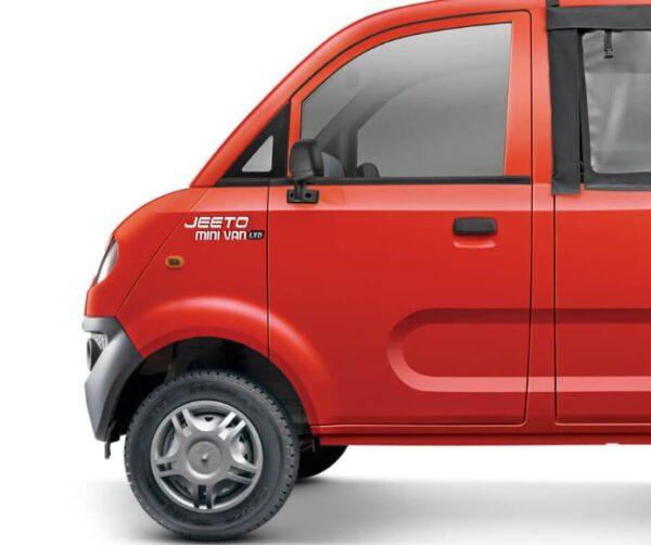 Mahindra Jeeto Minivan design