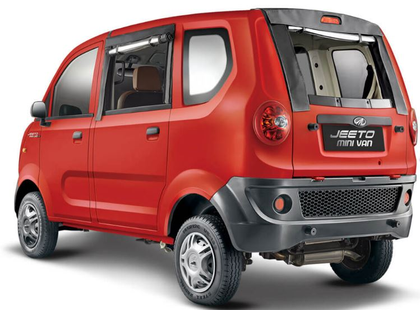 Mahindra Jeeto Minivan price in India