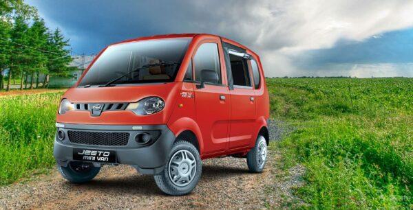 Mahindra Jeeto Minivan specs