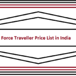 Force Traveller Price List in India 2019