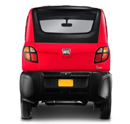 Bajaj QuteSmall Car Specifications