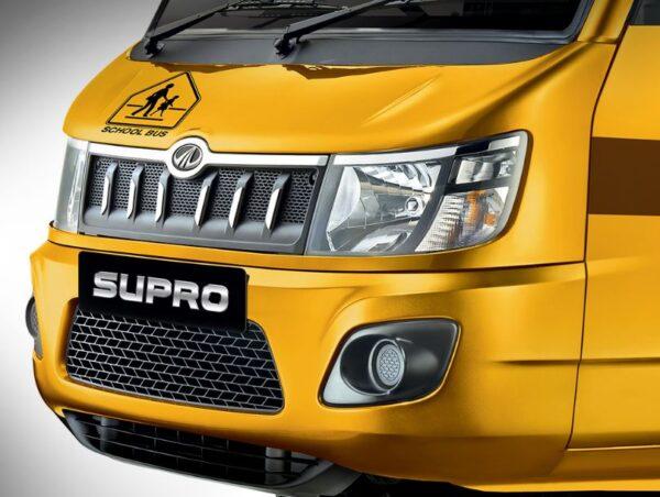 Mahindra Supro School Van front design