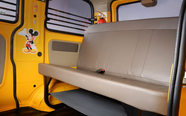 Mahindra Supro School Van seating