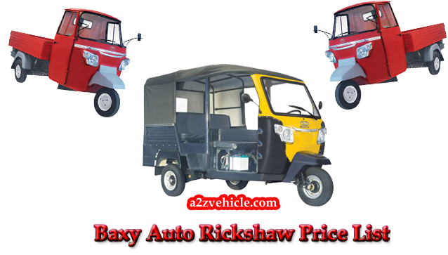 50ec8293de5 Baxy Three Wheelers】Price List 2019 Key Features & Images