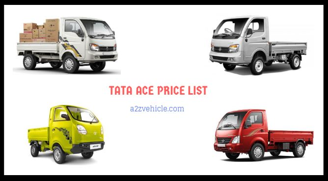 TATA ACE Mini Truck Price List in India