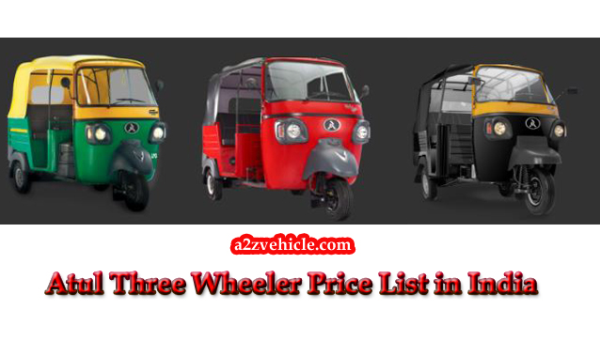 atul auto price list