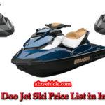 Sea Doo Jet Ski Price List【2019】