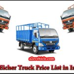 Eicher Truck All Model Price List in India 2019