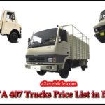 TATA 407 Truck Price List & Specifications {2019}