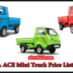 TATA ACE Mini Truck Price List in India {2019}