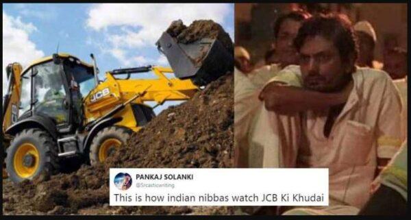 JCB Memes Viral on Social Media