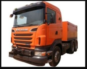 SCANIA R580 V8 PULLER price